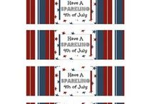 4th of July / Crafts, food, decorations, desserts, everything 4th of July. / by Five Little Chefs