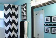 Bathroom / Bathroom decor, remodel, DIY / by Five Little Chefs