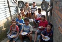 Nicaragua / Compassion began registering children into Nicaragua's programs in 2002. A traditional Nicaraguan meal consists of eggs or meat, beans and rice, salads of cabbage and tomatoes, tortillas and fruit. / by Compassion International