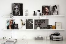 Inspiring Office Space / We love making our little office look pretty - this is some lovely inspiration!! / by AskHerFriends.com