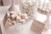 CANDY BAR/DECORACION / candy, flowers, decor, cupcakes, candy bar.  / by Niña Larva