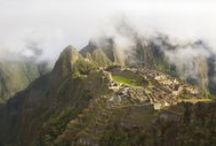 Environment: Lost Civilisations / Mostly in Peru. How structures sit in the environment, environment modification, trails and roads... / by Harry Robinson