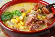 Soup, Chowder, Stew, Chili Recipes / Soup, Chowder, Stew, Chili of all varieties.