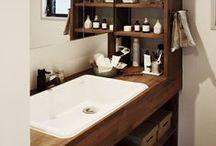 洗面手洗い / 洗面・手洗いのリフォーム、リノベーション・インテリア実例 byいえラボ