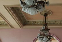 "Lamps & chandeliers / ""I love lamps. I'm crazy about them.""