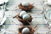 Easter / inspiration for easter - food, decor and egghunts
