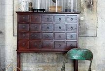 For Our Home / Idea's to try. And my obsession with drawers! / by Dodie Ann Zimmerman-Koehler