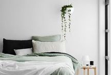 BEDROOMS / Bedrooms with character & minimal style.