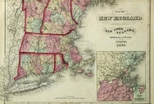 Antique Maps / by Allen Wong