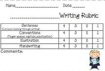 School--Writing / by Shari Copeland