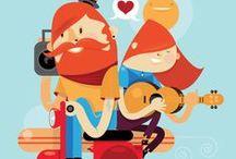Illustration / by Agung Syaifudin