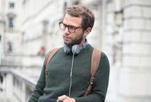 MENSWEAR / Stylish mens outfits. Casual, minimal, outdoorsy.