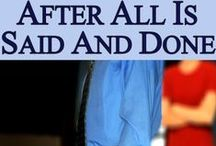 After All Is Said And Done by Belinda G. Buchanan / Nobody wakes up one morning and decides that this is the day they are going to cheat on their spouse. When the opportunity presents itself however, it ultimately becomes a choice - and that choice whether good or bad can have irrevocable consequences...        A powerful novel about infidelity, healing, and forgiveness #womensfiction