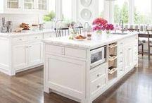 Dream Kitchen / My love of Craftsman-style kitchens.