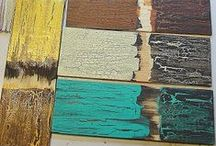 Recycled Boards / by Roxanne Peterson