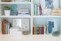 Bookshelves + Design