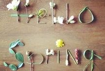 Spring / Pretty ideas for springtime