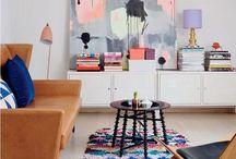 Live. Lounge. Relax. Room. / Living room design.