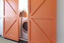 Scrub. Wash. Launder. / Laundry room design.