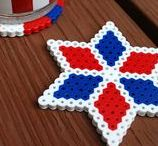 Fourth of July DIY & Crafts / Simple and clever crafts, recipes and patriotic decorations to celebrate America ...and my husband Shane's birthday too!