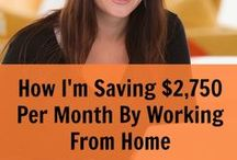 Work at Home Mom Ideas for my business / by Erin Branscom