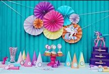 Birthday Party Ideas / All things birthday parties! Decor, cakes, and ideas for activities and games / by ErinBrans.com