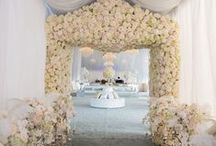 Wedding Decor Ideas We Love! / Gorgeous, even jaw-dropping, decor inspirations for your wedding!