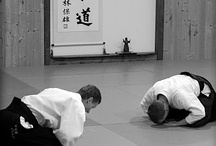 """Aikido / The Way of harmonious spirit: """"Study the teachings of the pine tree, the bamboo, and the plum blossom. The pine is evergreen, firmly rooted, and venerable. The bamboo is strong, resilient, unbreakable. The plum blossom is hardy, fragrant, and elegant."""" O-Sensei Morihei Ueshiba"""