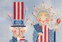 Cross Stitch: Patriotic / Freebies that are patriotic