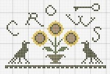 Cross Stitch: Fall / Anything autumnal, spooky and the like.