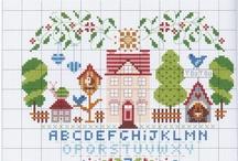 Cross Stitch: Alphabets