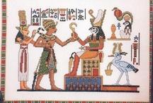 Cross Stitch: Egypt/Rome