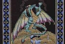 Cross Stitch: Dragons