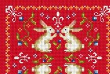 Cross Stitch: Bunnies