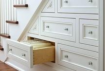 Storage + Organization / Kitchen storage, organization, and built in ideas. / by Alyssa Collins