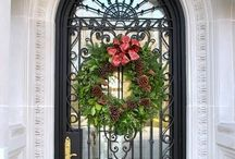 Wreaths/door decor / Too many beautiful wreaths for one board, see also my other wreath category boards. / by Kathy Garris