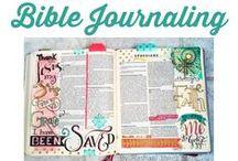 Bible journaling / All things spiritual and ideas for bible studies and bible journaling / by ErinBrans.com