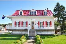 Architecture / Historiques ou modernes les établissements du Saguenay-Lac-Saint-Jean sont invitants et charmants !