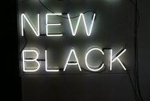 BLACK ON UUSI MUSTA / Onk se must?