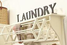 Laundry Room Ideas / by Natalya Hoak