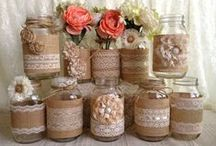 Burlap Things We Love! / Inspiring ideas on how to use the latest on trend material...burlap!