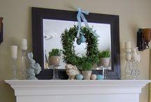 Wreaths and DIY Decor / by Natalya Hoak
