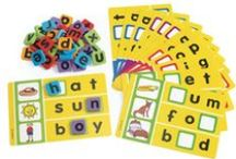 Language & Literacy / Strengthen listening and literacy skills, visual perception and phonemic awareness with colorful tools and games. Find word games, books and more.