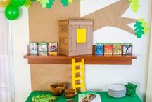 Magic Treehouse Birthday Party / The best Magic Treehouse birthday party cakes | Magic Treehouse birthday party games and activities | Magic Treehouse DIY party decorations | Magic Treehouse birthday party printables
