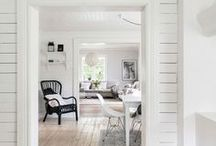 Home Decor etc. / Beautiful interior design, pretty corners and awesome ideas. Lots of Scandi Design, whitewashed floors and simple interiors.