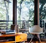 Mid-Century Modern / Mid-century spaces we swoon for.
