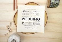 Wedding // Invites & Paper Details / by Rahel Menig Photography