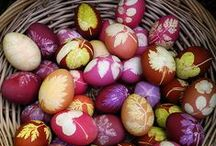 Easter Festival /  Easter is celebrated on the first Sunday after the Spring Equinox.  / by Nicole Young