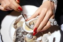 P E A R L S / Pearls are mother nature's secrets, layered beyond perfection from deep within the ocean.