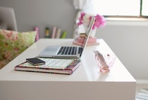 Home office ideas / by Edlyn-Ric Mares